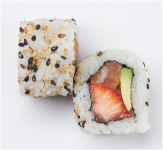 Foto Strawberry Salmon roll