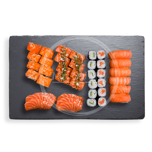 Foto Salmon Lovers Box, 40st